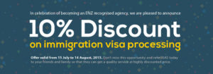 10% Discount on Immigration isa processing Karachi Pakistan