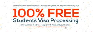 Free student visa processing Karachi Pakistan